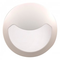 Click Ovia Inceptor Evo 10W White LED Bulkhead with Eyelid