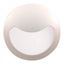 Click Ovia Inceptor Evo 12W White LED Bulkhead with Eyelid and Emergency Backup