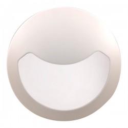 Click Ovia Inceptor Evo 17W White LED Bulkhead with Eyelid, Microwave Sensor, and Emergency Backup