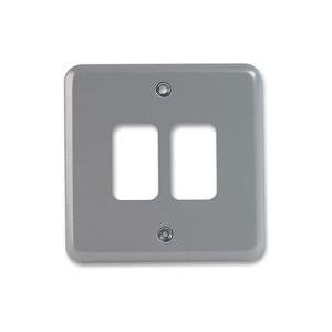 MK Electric Metalclad Plus™ 2 Module Grid Plate