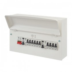 MK Electric Sentry Metal Fully Populated 16 Way Consumer Unit