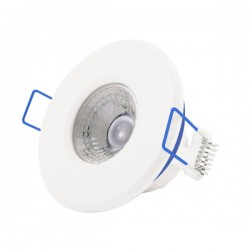 Click Ovia Inceptor Nano<sup>5</sup> 4.8W Warm White Dimmable White Fixed LED Downlight