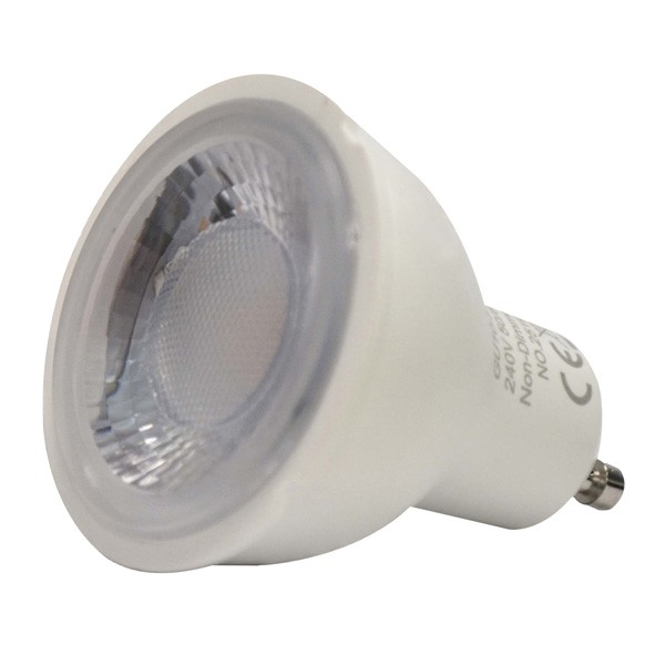 Eton 5W Daylight Dimmable GU10 LED Bulb at UK Electrical Supplies.