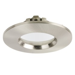 Aurora Lighting EFD Pro Satin Nickel IP65 Fixed Bezel