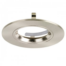 Aurora Lighting EFD Pro Satin Nickel Fixed Bezel
