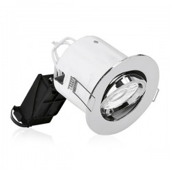 Aurora Lighting EFD Pro Polished Chrome Adjustable Bezel