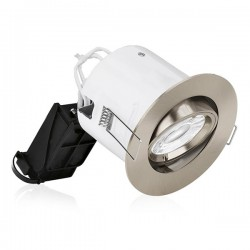 Aurora Lighting EFD Pro Satin Nickel Adjustable Bezel