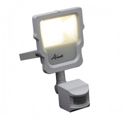 Ansell Calinor 10W 4000K White LED Floodlight with PIR