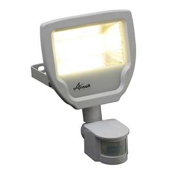 Ansell Calinor 20W 4000K White LED Floodlight with PIR