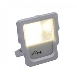 Ansell Calinor 10W 3000K White LED Floodlight