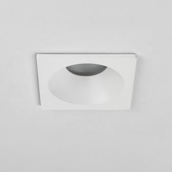 Astro Minima Square GU10 Matt White Bathroom Downlight