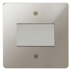 Focus SB Horizon HPN56.1W Fan Isolator Switch in Polished Nickel