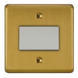 Focus SB Victorian VSB56.1W Fan Isolator Switch in Satin Brass