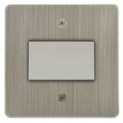 Focus SB Horizon HSN56.1W Fan Isolator Switch in Satin Nickel