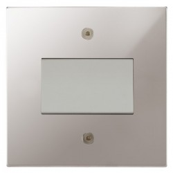 Focus SB Horizon Square NHPS56.1W Fan Isolator Switch in Polished Stainless