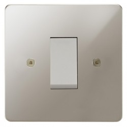 Focus SB Horizon HPN32.1W/SML 45 amp Cooker Control Switch in Polished Nickel