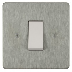Focus SB Horizon HSS32.1W/SML 45 amp Cooker Control Switch in Satin Stainless