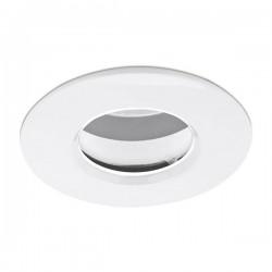 Aurora Lighting EDLM Pro IP65 50W Fixed GU10 Downlight with White Bezel