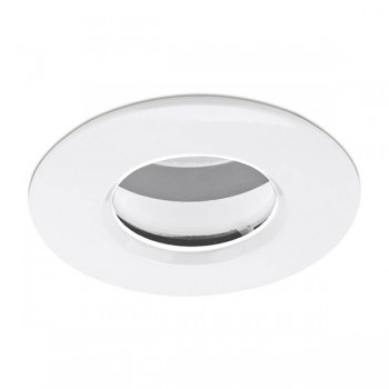 Enlite EDLM Pro IP65 50W Fixed GU10 Downlight with White Bezel