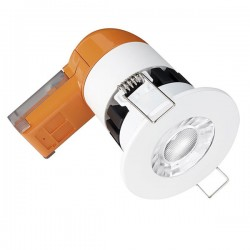 Aurora Lighting E6 Pro 6W Warm White Dimmable Fixed LED Downlight
