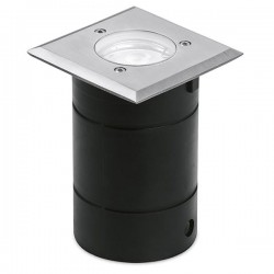 Enlite G-Lite Pro IP65 50W Square Stainless Steel GU10 Walkover Light