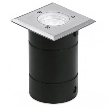 Aurora Lighting G-Lite Pro IP65 50W Square Stainless Steel GU10 Walkover Light
