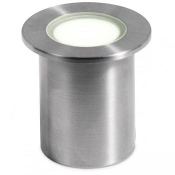 Aurora Lighting M-Lite Pro IP68 1W 3000K Stainless Steel LED Marker Light - 36mm