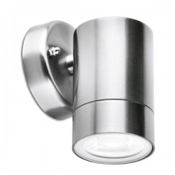 Aurora Lighting WallE Pro IP65 35W Stainless Steel GU10 Wall Light
