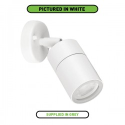 Enlite WallE IP44 35W Grey Adjustable GU10 Wall Light