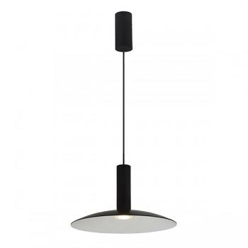 Ansell Amber 7.5W 3000K Black LED Pendant Light