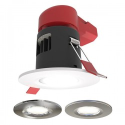 Ansell Prism 8W Colour Switching Dimmable Fixed LED Downlight Pack