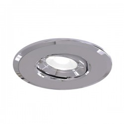 Ansell Argo 5W 4000K Gimbal Chrome LED Downlight