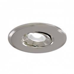 Ansell Argo 5W 3000K Gimbal Satin Chrome LED Downlight