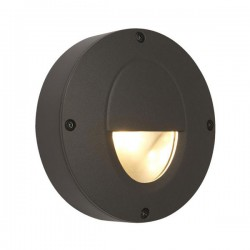 Ansell Callisto AC 4W 3000K Graphite LED Low Level Wall Light