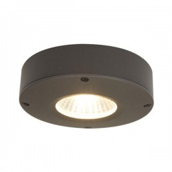 Ansell Callisto AC 4W 3000K Graphite LED Wall/Ceiling Light