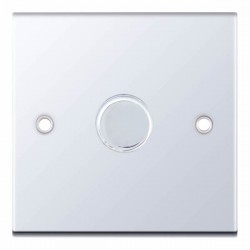 Selectric 5M Polished Chrome 1 Gang 400W 2 Way Dimmer Switch