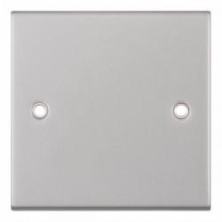 Selectric 5M Satin Chrome 1 Gang Blank Plate