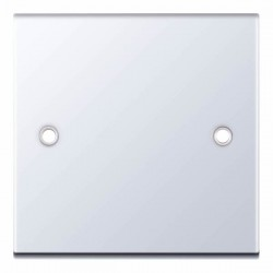 Selectric 5M Polished Chrome 1 Gang Blank Plate