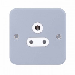 Selectric Metal Clad 1 Gang 5A Round Pin Socket