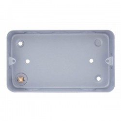 Selectric Metal Clad 2 Gang Surface Mounting Box