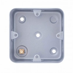 Selectric Metal Clad 1 Gang Surface Mounting Box