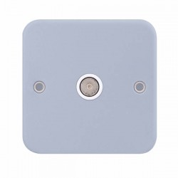 Selectric Metal Clad 1 Gang TV Socket