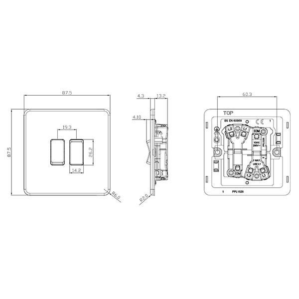 Mk 1 Gang 2 Way Switch Wiring Diagram