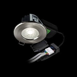 Collingwood Halers H2 Pro 550 CS Colour Switchable Dimmable Fixed LED Downlight - 65° Beam Angle