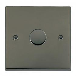 Hamilton Cheriton Victorian Black Nickel 1 Gang 100W 2 Way LEDIT-B100 LED Dimmer