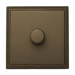 Hamilton Linea-Georgian CFX Richmond Bronze/Richmond Bronze 1 Gang 100W 2 Way LEDIT-B100 LED Dimmer