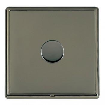 Hamilton Linea-Rondo CFX Black Nickel/Black Nickel 1 Gang 100W 2 Way LEDIT-B100 LED Dimmer