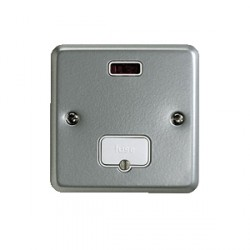 MK Electric Metalclad Plus™ 13A Unswitched Fused Connection Unit with Neon