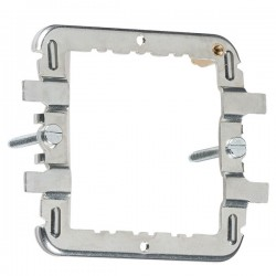 Knightsbridge 1-2 Gang Flat Plate/Metal Clad Grid Mounting Frame