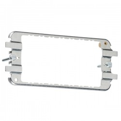 Knightsbridge 3-4 Gang Flat Plate/Metal Clad Grid Mounting Frame